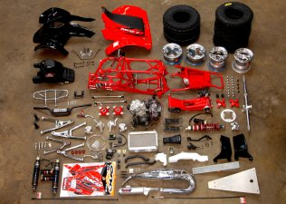 TRX250R DirtFirst quad build photo