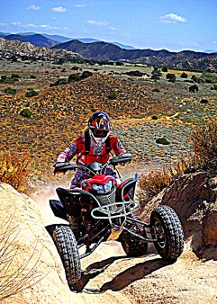 Riding in Hungry Valley OHV area Gorman Ca