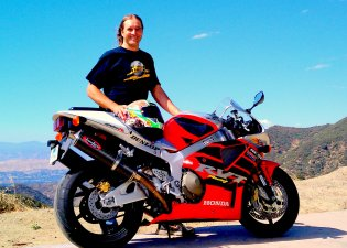 Angeles Crest Hwy Honda RC51
