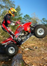 Harlen Foley photo shoot Florida GNCC 2004