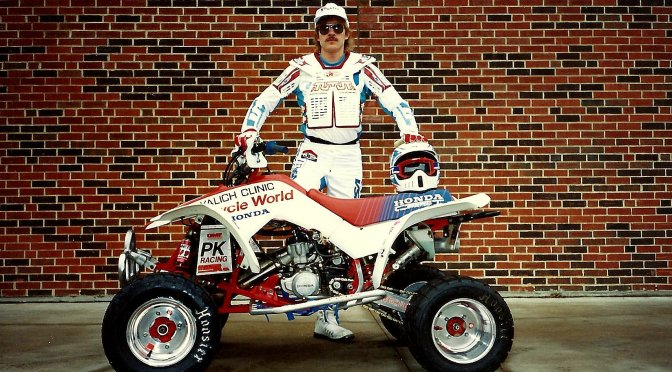 HONDA TRX250R RACE PICS FROM THE 1990'S